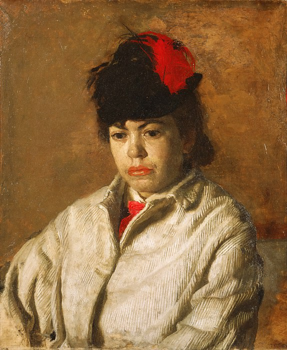 Икинс, Томас (Филадельфия 1844-1916) - Портрет Маргарет Икинс в костюме для катания на коньках. Музей искусств Филадельфии