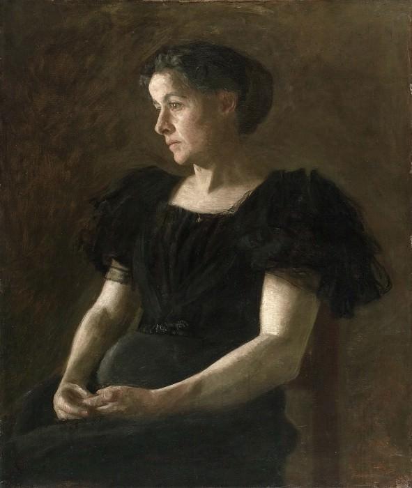 Thomas Eakins, American, 1844-1916 -- Portrait of Mrs. Frank Hamilton Cushing. Philadelphia Museum of Art