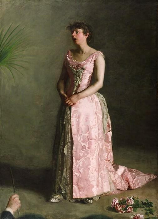 Икинс, Томас (Филадельфия 1844-1916) - Концертирующая певица. Музей искусств Филадельфии