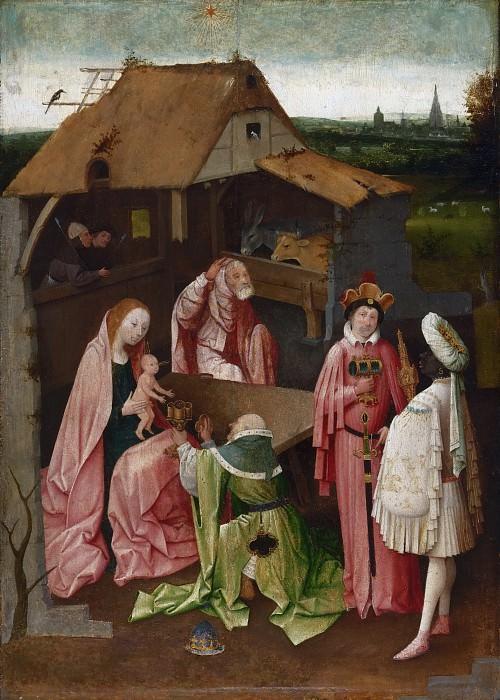 Босх, Иероним (Хертогенбос ок1450-1516) - Поклонение волхвов. Музей искусств Филадельфии