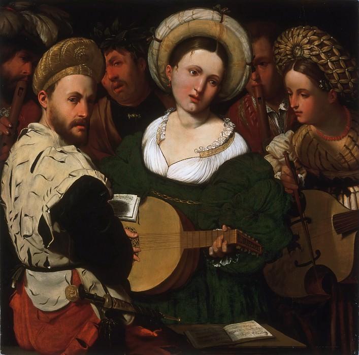 Callisto Piazza (Calisto de la Piaza da Lodi), Italian (active Lodi and Brescia), first documented 1524, died 1561 -- Musical Group. Philadelphia Museum of Art
