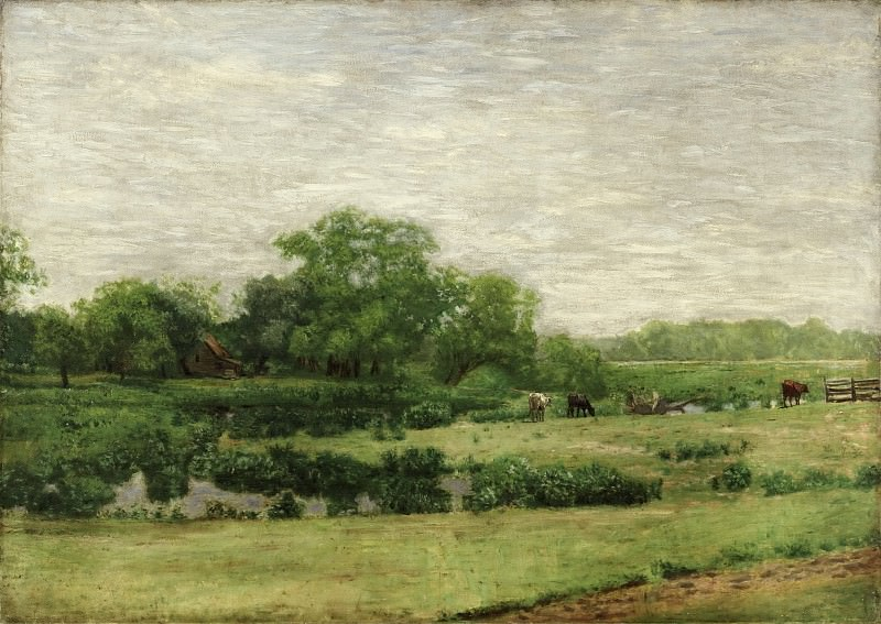 Thomas Eakins, American, 1844-1916 -- The Meadows, Gloucester. Philadelphia Museum of Art