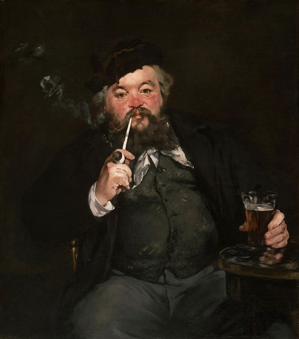 Édouard Manet, French, 1832-1883 -- Le Bon Bock. Philadelphia Museum of Art