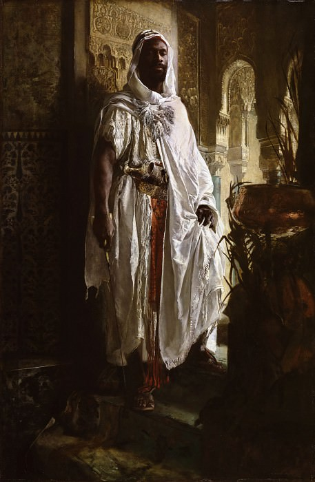Eduard Charlemont, Austrian, 1848-1906 -- The Moorish Chief. Philadelphia Museum of Art