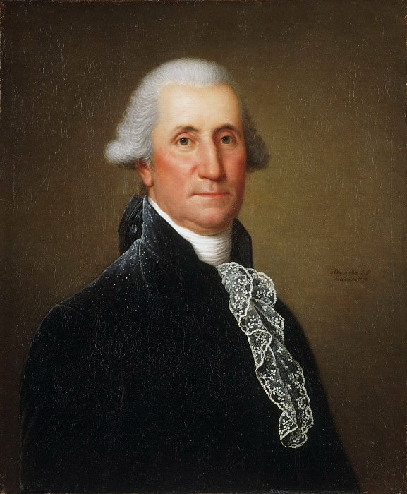Adolph Ulrich Wertmüller, Swedish, active United States, 1751-1811 -- Portrait of George Washington. Philadelphia Museum of Art