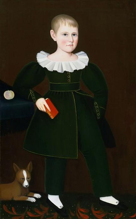 Ammi Phillips, American, 1788-1865 -- Aaron D. Smith. Philadelphia Museum of Art