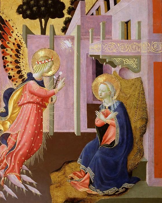 Zanobi Strozzi (Zanobi di Benedetto di Caroccio degli Strozzi), Italian (active Florence), 1412-1468 -- Annunciation. Philadelphia Museum of Art