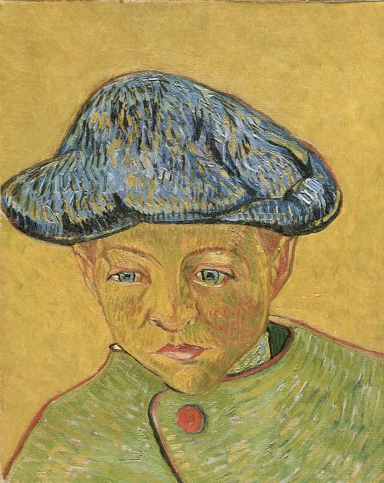 Vincent Willem van Gogh, Dutch, 1853-1890 -- Portrait of Camille Roulin. Philadelphia Museum of Art