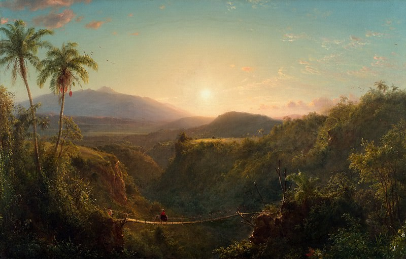 Frederic Edwin Church, American, 1826-1900 -- Pichincha. Philadelphia Museum of Art