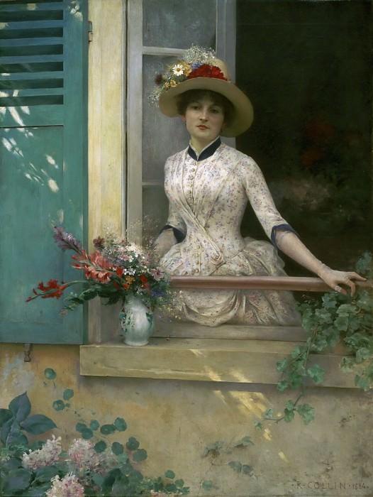 Коллен, Луи-Жозеф-Рафаэль (1850-1916) -- Утро. Музей искусств Филадельфии
