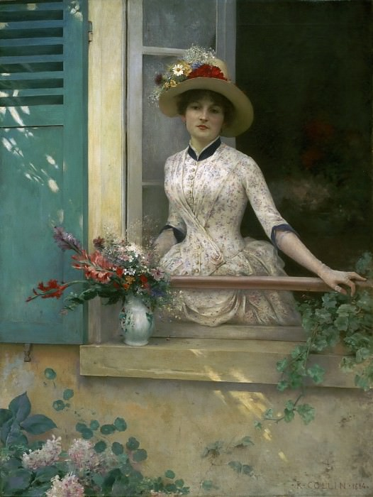 Louis-Joseph-Raphaël Collin, French, 1850-1916 -- Morning. Philadelphia Museum of Art