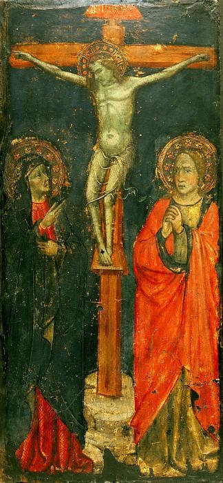 Пьеро ди Миниато (работал во Флоренции 1386-1430)(приписывается) -- Распятие. Музей искусств Филадельфии