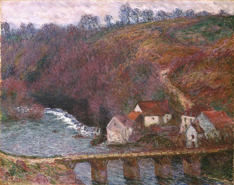 Claude Monet, French, 1840-1926 -- The Grande Creuse at Pont de Verry. Philadelphia Museum of Art