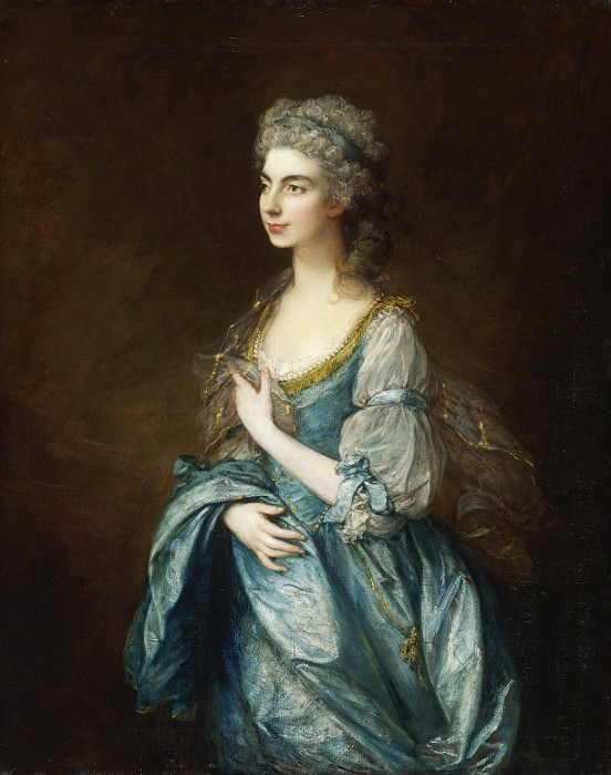 Thomas Gainsborough, English, 1727-1788 -- Portrait of Lady Rodney (née Anne Harley). Philadelphia Museum of Art