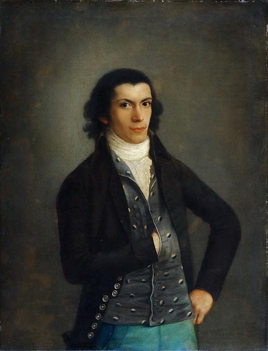 Agustín Esteve y Marques, Spanish, 1753-c. 1820 -- Portrait of Isidro González Velásquez. Philadelphia Museum of Art (?)