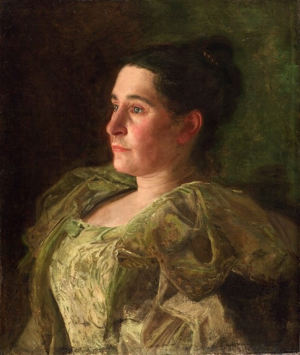 Thomas Eakins, American, 1844-1916 -- Portrait of Mrs. James Mapes Dodge (Josephine Kern). Philadelphia Museum of Art