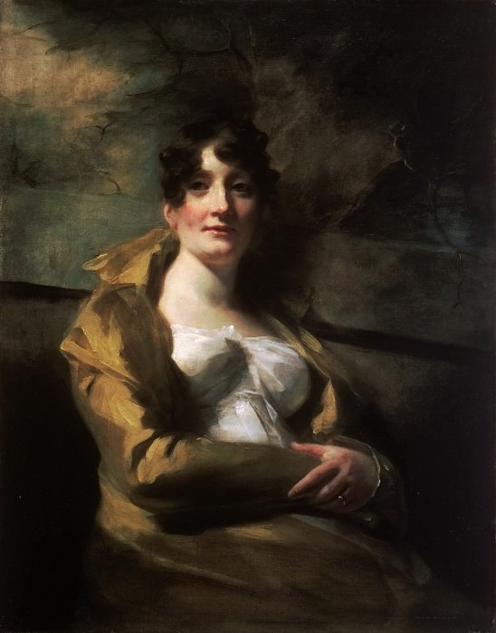 Sir Henry Raeburn, Scottish, 1756-1823 -- Portrait of Lady Elibank. Philadelphia Museum of Art