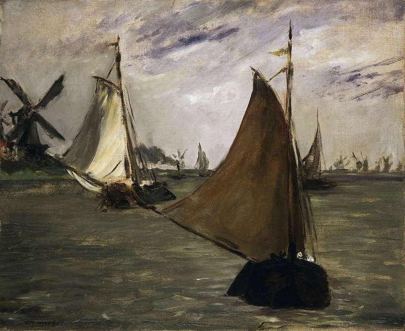 Marine in Holland. Édouard Manet