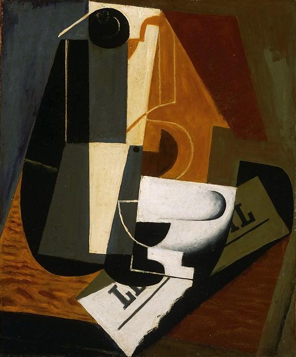 Juan Gris (José Victoriano González Pérez), Spanish, 1887-1927 -- Coffeepot. Philadelphia Museum of Art