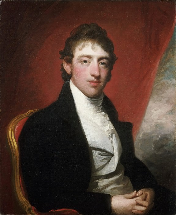 Gilbert Charles Stuart, American, 1755-1828 -- Portrait of David Montague, 2nd Baron Erskine. Philadelphia Museum of Art