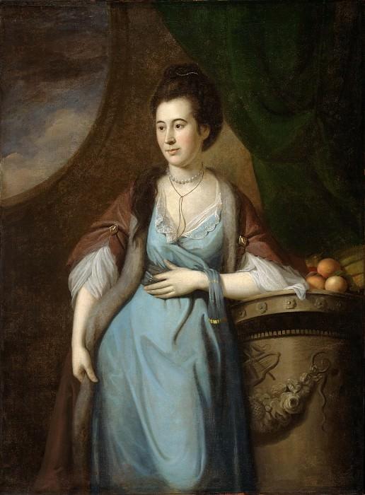 Пил, Чарльз Уилсон (1741-1827) -- Марта Кадуоладер Дагорти. Музей искусств Филадельфии