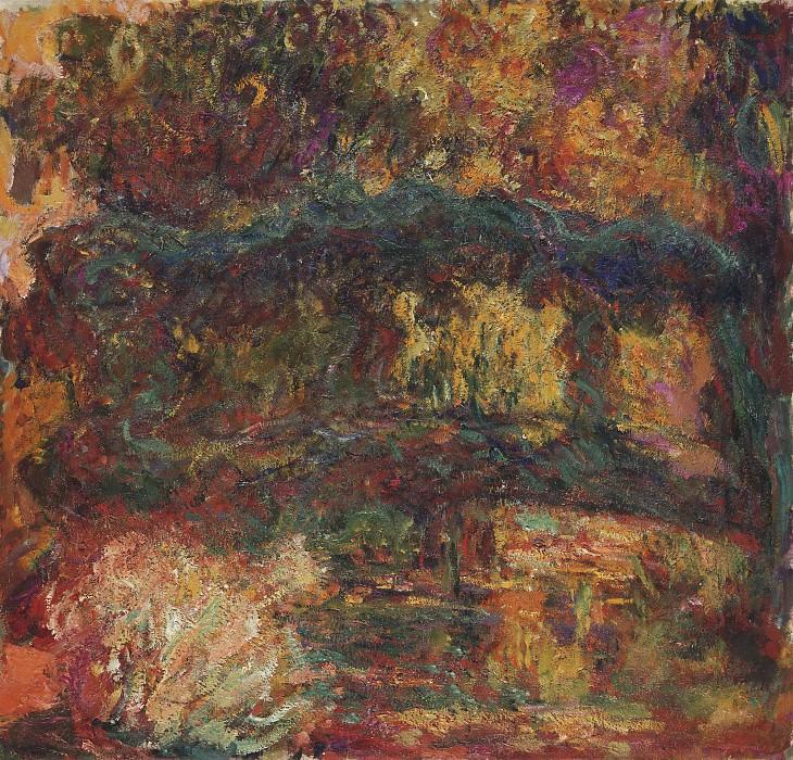 Claude Monet, French, 1840-1926 -- Nympheas, Japanese Bridge. Philadelphia Museum of Art