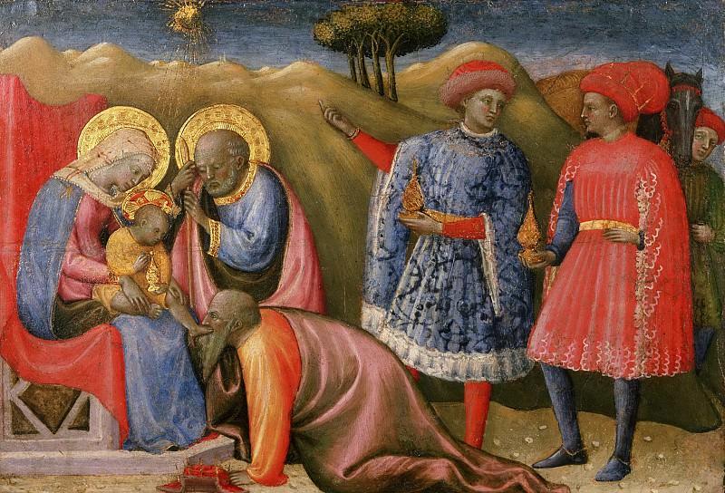 Скьяво (Паоло ди Стефано Бадалони) (1397 Флоренция - 1478 Пиза) -- Поклонение волхвов. Музей искусств Филадельфии