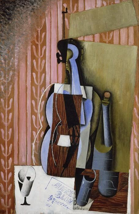 Грис, Хуан (1887 Мадрид - 1927 Булонь-сюр-Сен 1927) -- Скрипка. Музей искусств Филадельфии