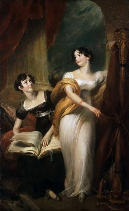 Харлоу, Джордж Генри (Лондон 1787-1819) -- Миссис Лидер. Музей искусств Филадельфии