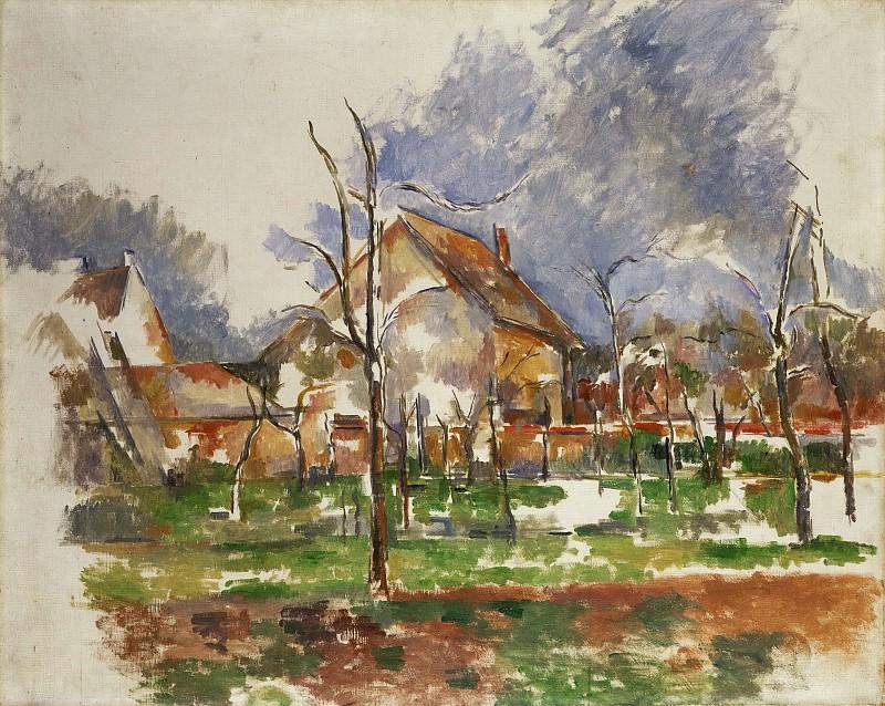 Сезанн, Поль (Экс-ан-Прованс 1839-1906) - Зимой близ Парижа. Музей искусств Филадельфии
