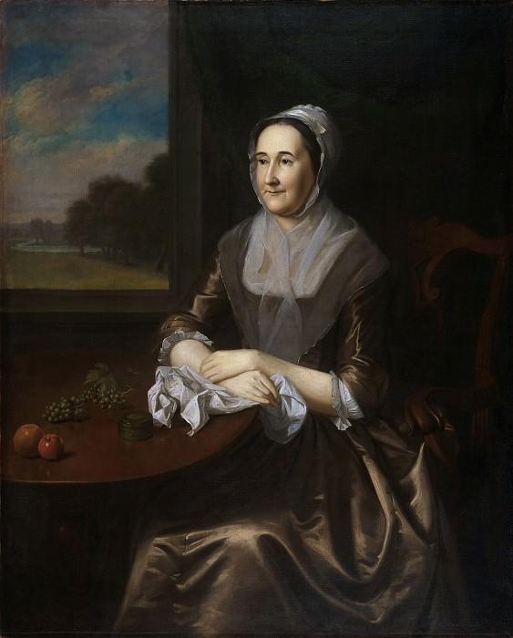 Пил, Чарльз Уилсон (1741-1827) -- Ханна Ламберт Кадуоладер. Музей искусств Филадельфии
