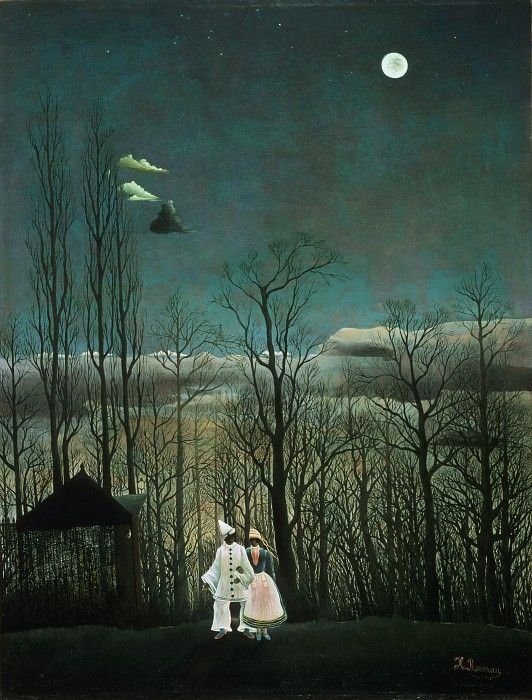 Henri-Julien-Félix Rousseau, French, 1844-1910 -- Carnival Evening. Philadelphia Museum of Art