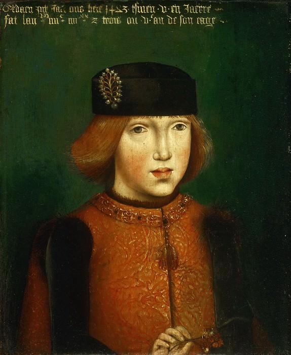 Конинксло Питер ван (Мастер легенды Марии Магдалины) (раб ок1479-1513 в Брюсселе)(приписывается) -- Филипп Красивый, герцог Бургундский. Музей искусств Филадельфии