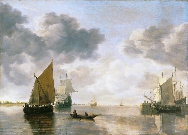 Simon Jacobsz. de Vlieger, Dutch (active Delft and Amsterdam), c. 1600-1653 -- Marine. Philadelphia Museum of Art