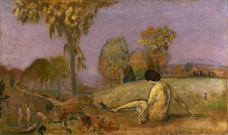 Дэвис, Артур Боуэн (1862-1928) -- Осень. Музей искусств Филадельфии