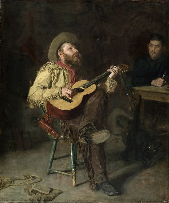Thomas Eakins, American, 1844-1916 -- Home Ranch. Philadelphia Museum of Art