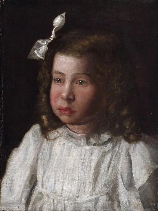 Икинс, Томас (Филадельфия 1844-1916) - Портрет маленнькой девочки. Музей искусств Филадельфии