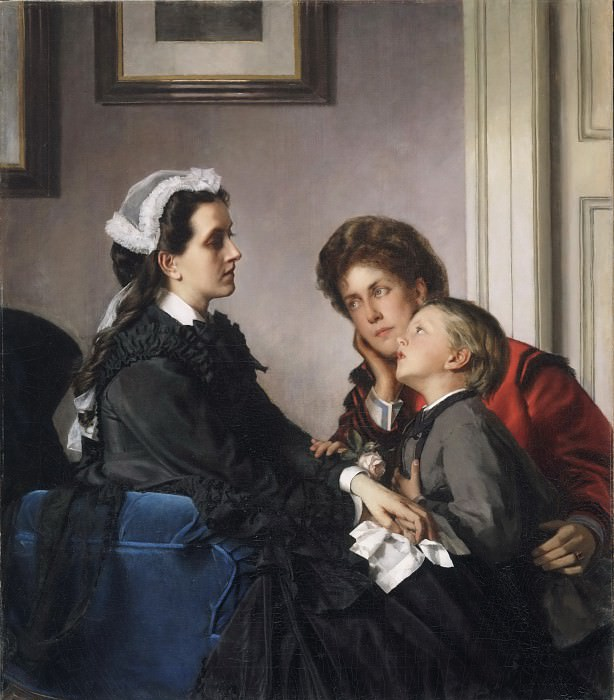 Alexandre Cabanel, French, 1823-1889 -- The Governess. Philadelphia Museum of Art