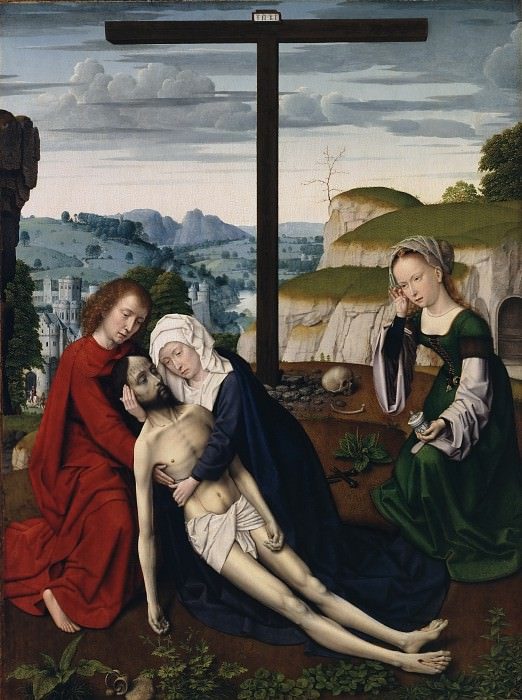Gerard David, Netherlandish (active Bruges), first documented 1484, died 1523 -- Lamentation. Philadelphia Museum of Art