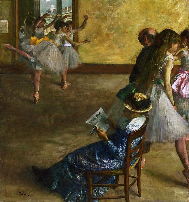 Amazon.com: Laminated Edgar Germain Hilaire Degas (Ballet
