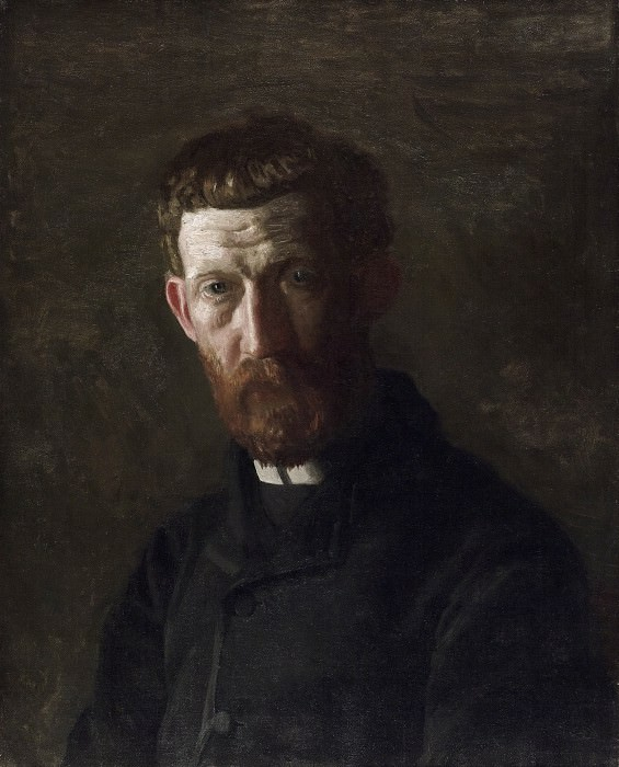 Thomas Eakins, American, 1844-1916 -- Portrait of Arthur Burdett Frost. Philadelphia Museum of Art