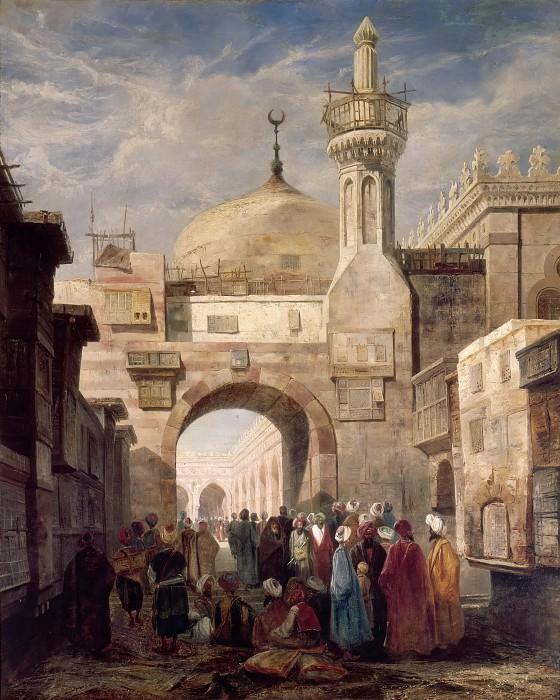 Доза, Адриан (1804 Бордо - 1868 Париж) -- Мечеть Аль-Азхар в Каире. часть 3 Лувр