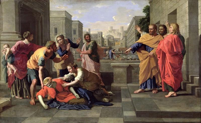 Пуссен, Никола (1594 лез-Андели - 1665 Рим) -- Смерть Сары. Part 3 Louvre