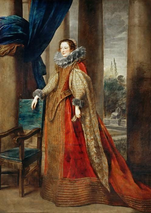 Anthony van Dyck -- Portrait of a Woman. Part 3 Louvre