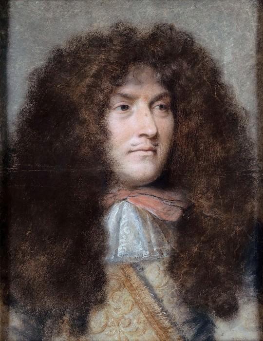 Лебрен, Шарль (Париж 1619-1690) -- Портрет Людовика XIV. часть 3 Лувр