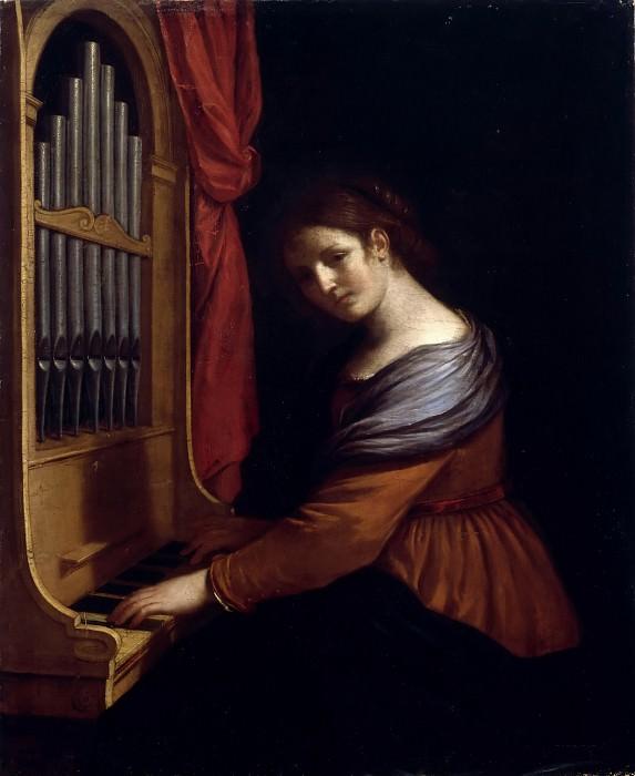 Guercino -- Saint Cecilia. Part 3 Louvre