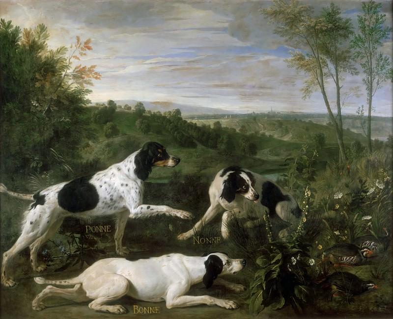 Депорт, Александр-Франсуа (1661 Шампиньоль - 1743 Париж) -- Бонна, Нонна и Понна. часть 3 Лувр