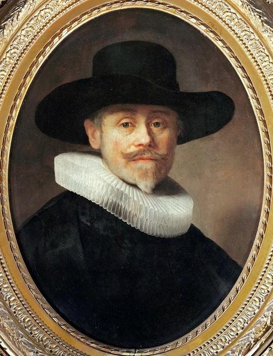 Rembrandt van Rijn -- Portrait of Albert Cuyper. Part 3 Louvre