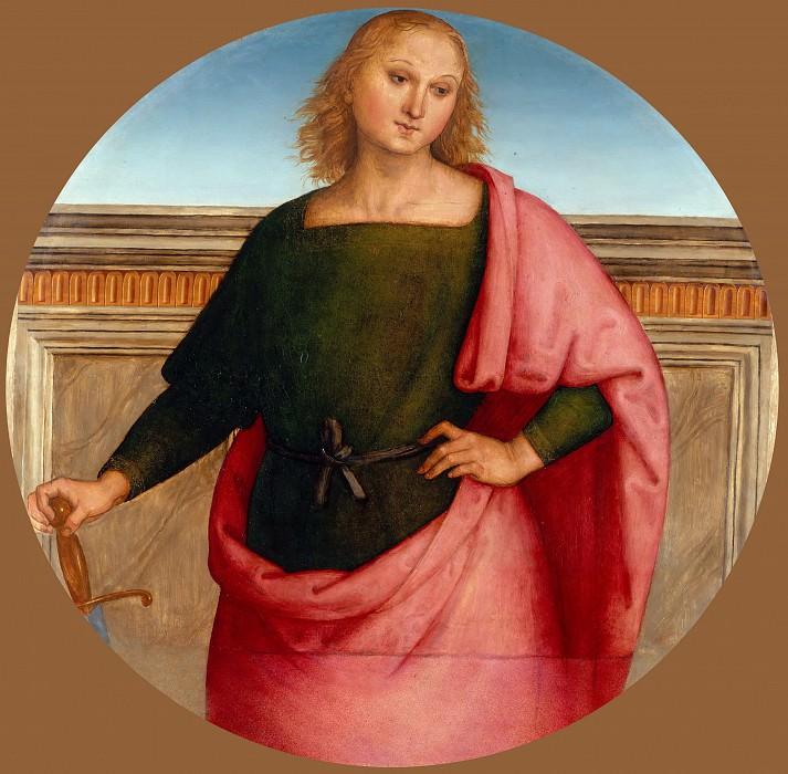 Perugino -- Saint Martin?. Part 3 Louvre