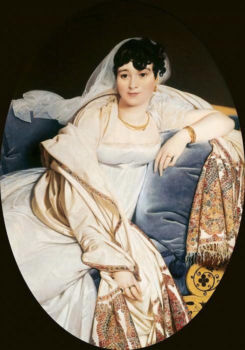 Madame Riviere. Jean Auguste Dominique Ingres